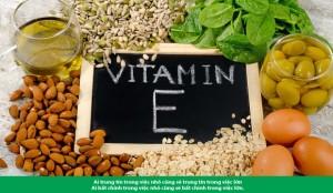 Vitamin E và những công dụng Không-thể-bỏ-qua